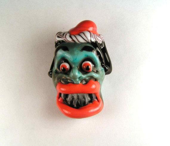 Copper Scream- A Loud Glass Bead