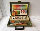 Vintage Oil Color Paint Set -1970's Permanent Pigments No. 355