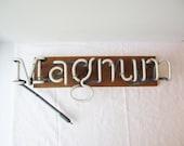 Vintage Magnum Neon Sign Light