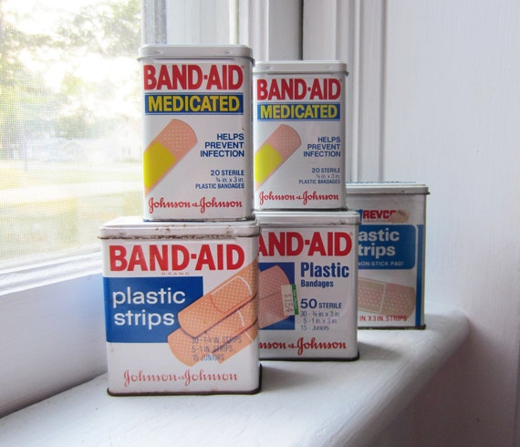 Instant Collection Band Aid Tins