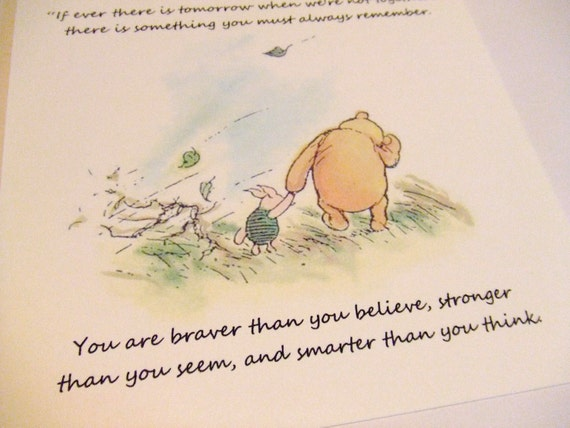 Smarter Than You Think Quote: Always Remember Winnie The Pooh Quote Classic Piglet And