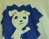 Women's Puppy Tee - Large