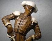 Vintage 1960s Large Treasure Craft Ceramic Spainish Matador