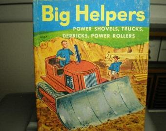 Vintage 1950s Illustrated Children's Junior Elf Book - Big Helpers