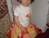 Size 18-24m Patchwork Pixie Twirl Skirt Set
