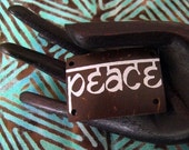 Peace Scrapbook Word Tiles 6pcs