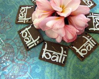 Bali Scrapbook Word Tiles 6pcs
