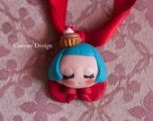Cunene Cupcake sleeping doll Pendant