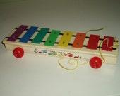 Vintage Fisher Price Xylophone 1978