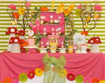 Fairy Birthday Party | Fairy Party Printables | Fairy Birthday Decorations | Butterfly Birthday | Girl 1st Birthday | Amanda's Parties To Go
