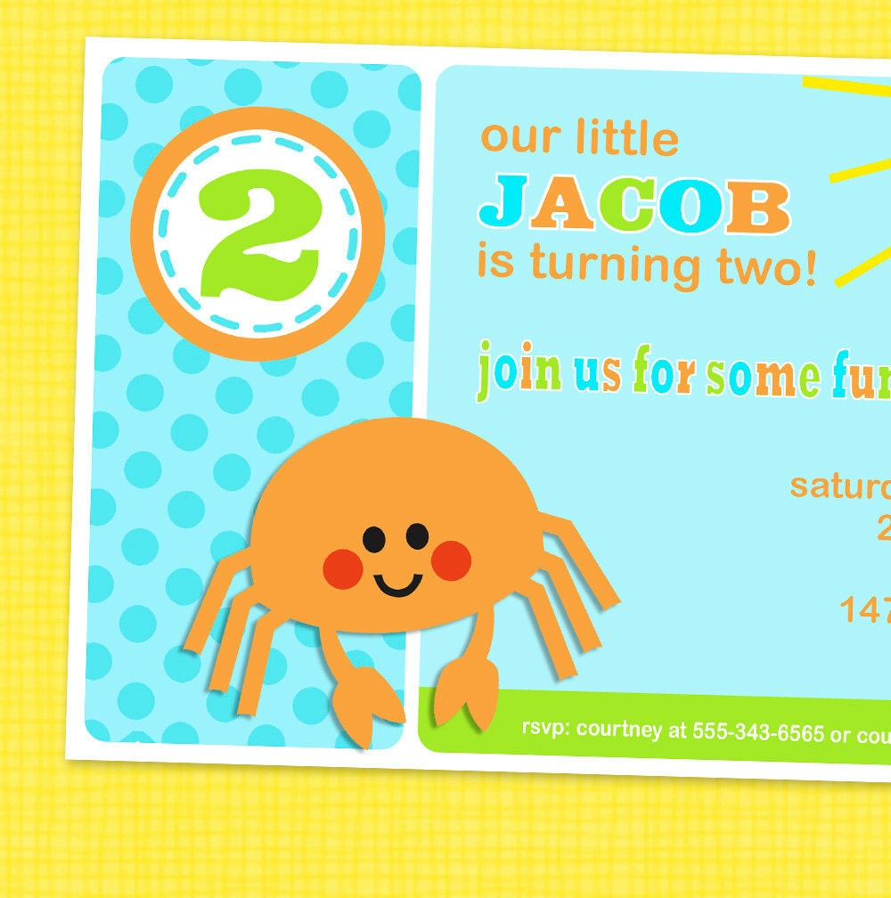 Sea Party Invitations was best invitation ideas