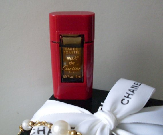 Designer Cartier Collectible Perfume Bottle LJO Collection