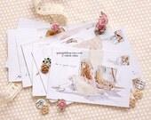 12-Piece Blush Postcard Set