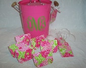 Lilly Pulitzer White Zin Custom Gift Cards & Tags Set of 12