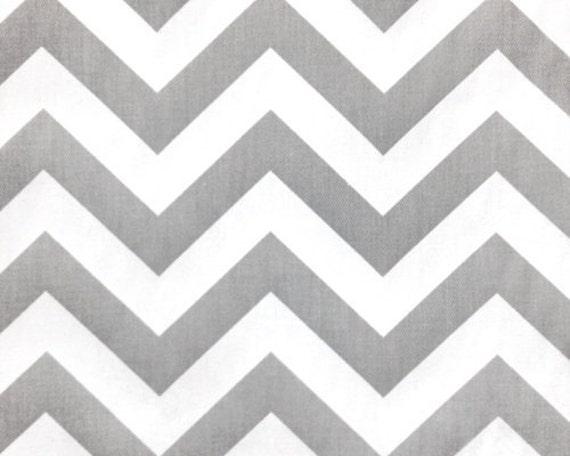 Chevron Storm Gray And White Custom Shower Curtain By HomeLush
