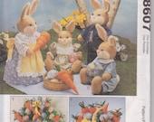 McCalls Crafts 8607 Bunny Picnic Pattern