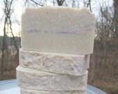 Violet Handmade Soap - Homemade Cold Process Soap - LAST BAR