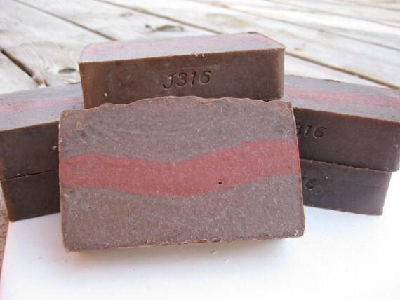 Chocolate Covered Strawberries Soap - Handmade Soap - LAST BAR - Homemade Soap