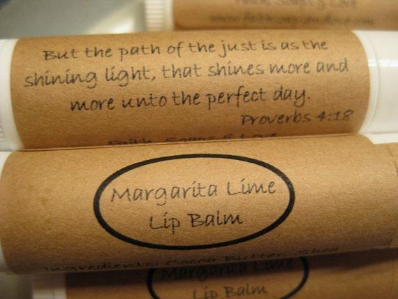 Lip Balm - Margarita Lime Flavored - Tube