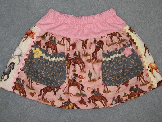 Cowgirl skirt in pink - size 2/3