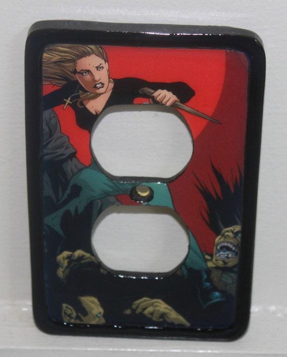 Buffy the Vampire Slayer Zombie Switchplate