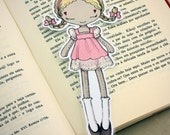 Spring Belle - bookmark - made to order