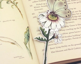 Insect bookmark