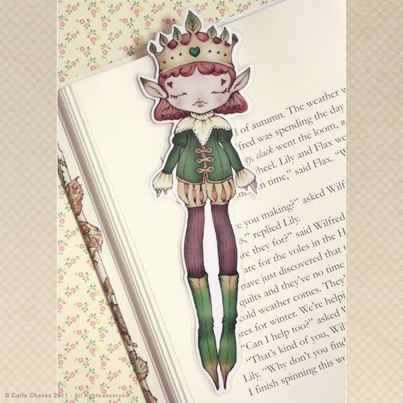 Forest King bookmark