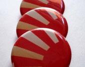 Help Japan Rising Sun Pin