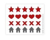 Mark The Spot (sticker sheet)