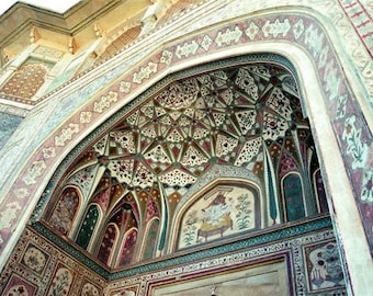 Jaipur Arch - 5x7 photo - Metallic finish