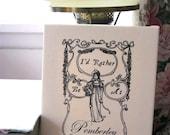 Jane Austen Pemberley Print Pride and Prejudice