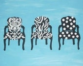 Whimsical Chair Silhouettes
