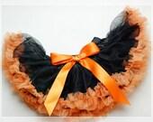 Newborn reborn infant girl HALLOWEEN costume tutu dress 0-6m
