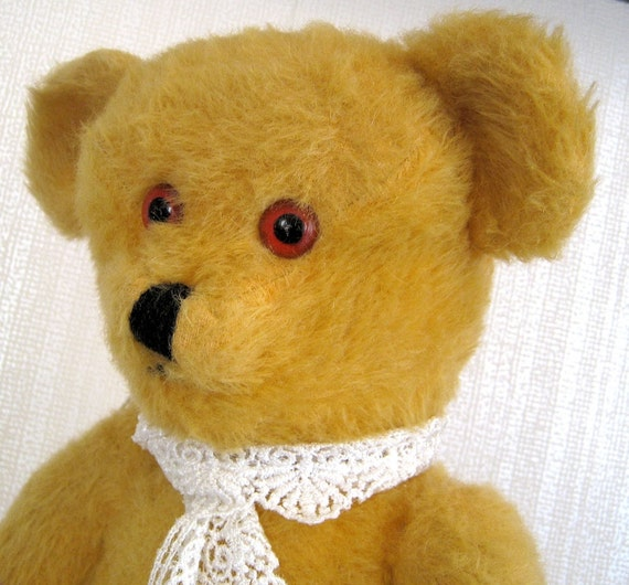 Vintage Mohair Growling Bear Doodle