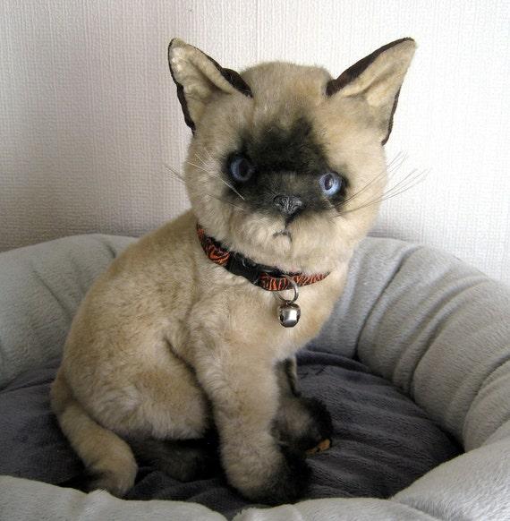 Siamese Cat Vintage Toy Prince