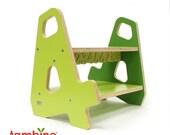 4-4 Stepstool in Green Hues