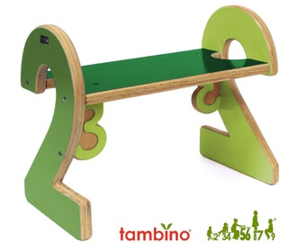 2-2 Stepstool in Green Hues