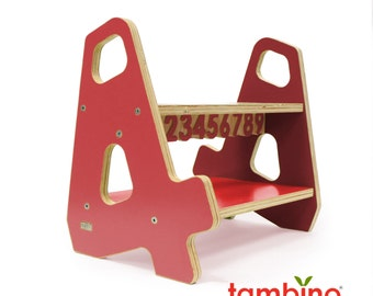 4-4 Stepstool in Red Hues