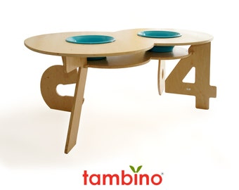 Figure 8 Activity Table in Blue Hues