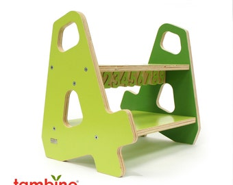 4-4 Stepstool in Green Hues