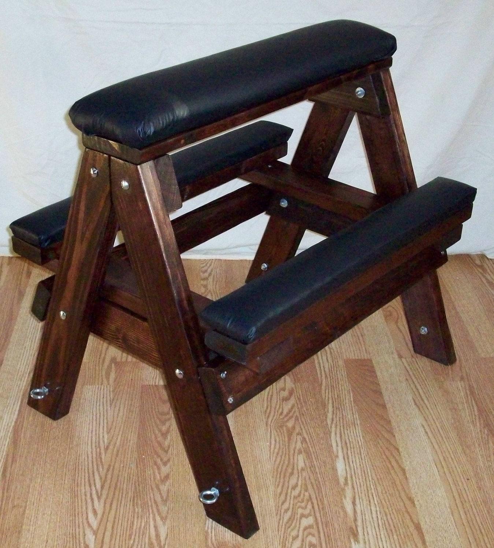 Dildo on wood stool 1