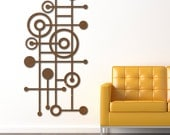 MOD Dots No. 4 Floating Wall Art in 46 X 23 available in 25 colors