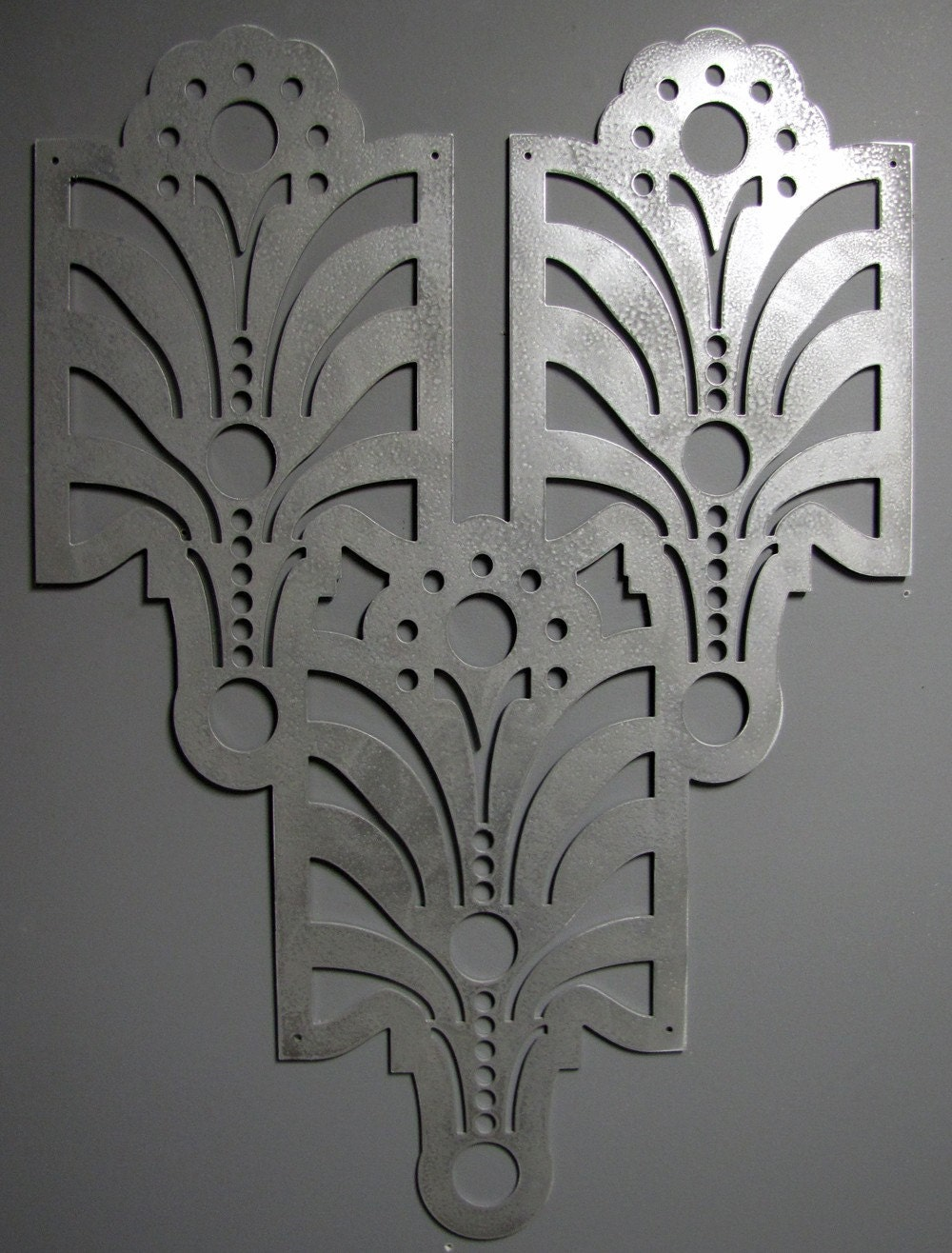 Art Deco Arts And Craft Decorative Wall Art In 23 X 33 Antique