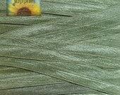5/8 inch Fold Over Elastic Trim - 5 Yards Light Olive