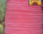 5/8 inch Fold Over Elastic Trim - 5 Yards French Pink