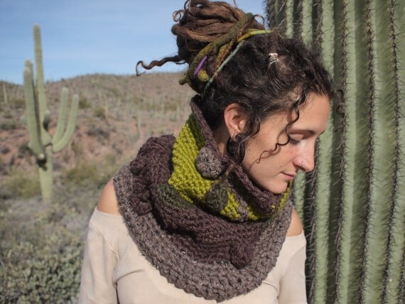 SALE A Tube Scarf like none other - cowl of epic proportions