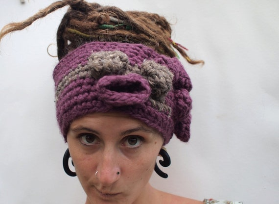 FREE SHIPPING - Funky and Warm Bobbled headband