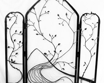 wrought Iron Room Divider wall art