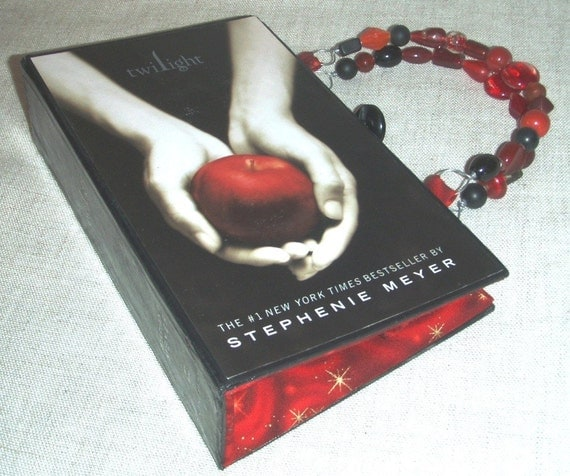 Twilight Book Purse - made from recycled book